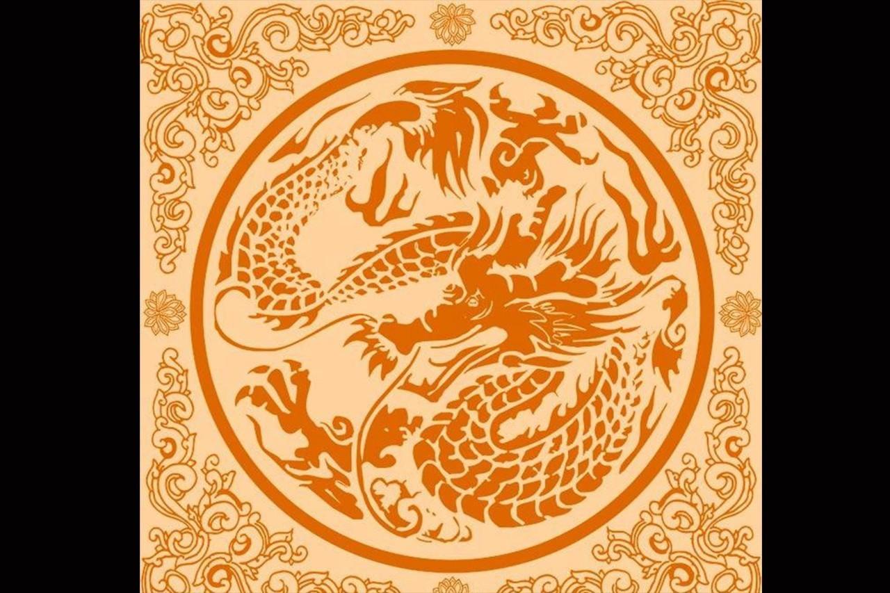 """文化 正文  宝相花又称""""宝莲花"""",是汉族传统吉祥纹饰之一,将自然界"""