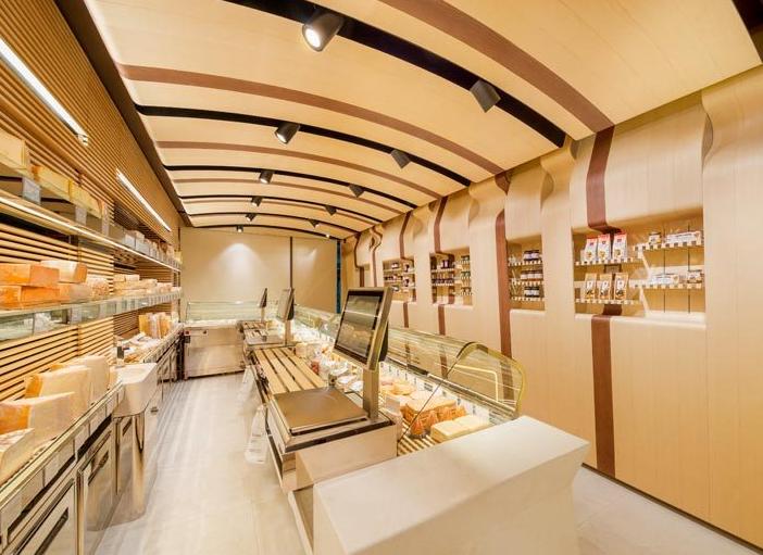 北京面包店设计效果图