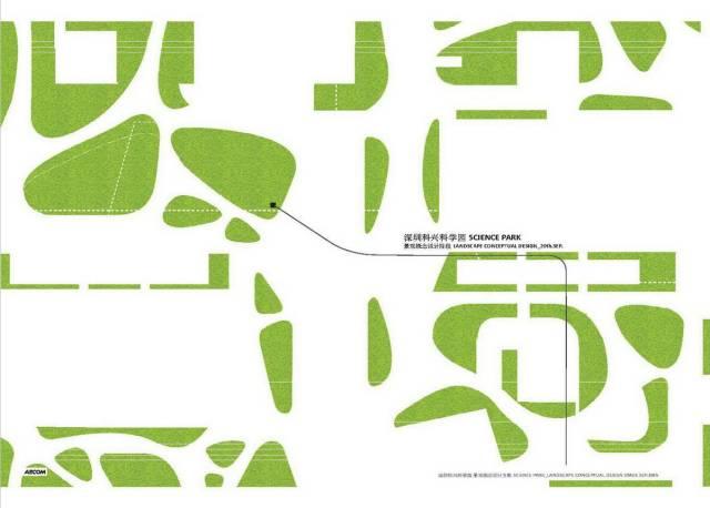 手绘景观节点分析图标