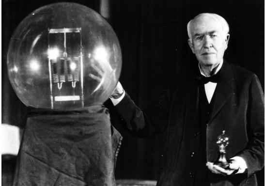 0种材料,最终发明了电灯,赚到盆满钵满