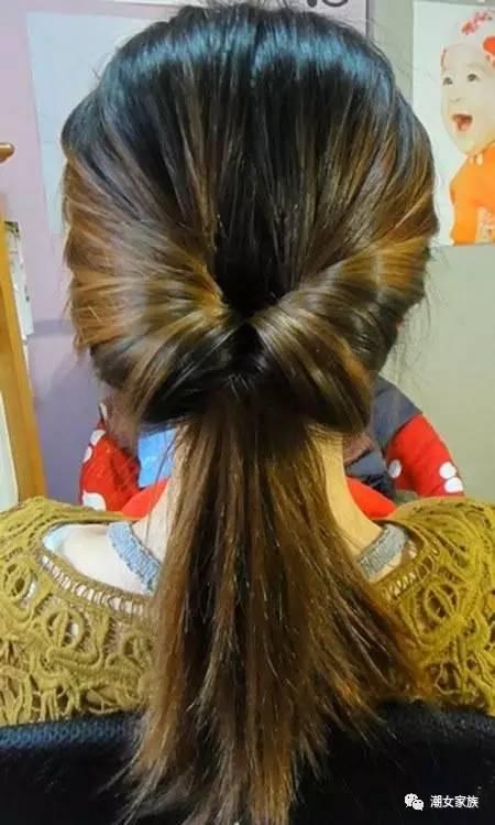 头发长了千万别披着,6款韩式盘发,简单又好看!
