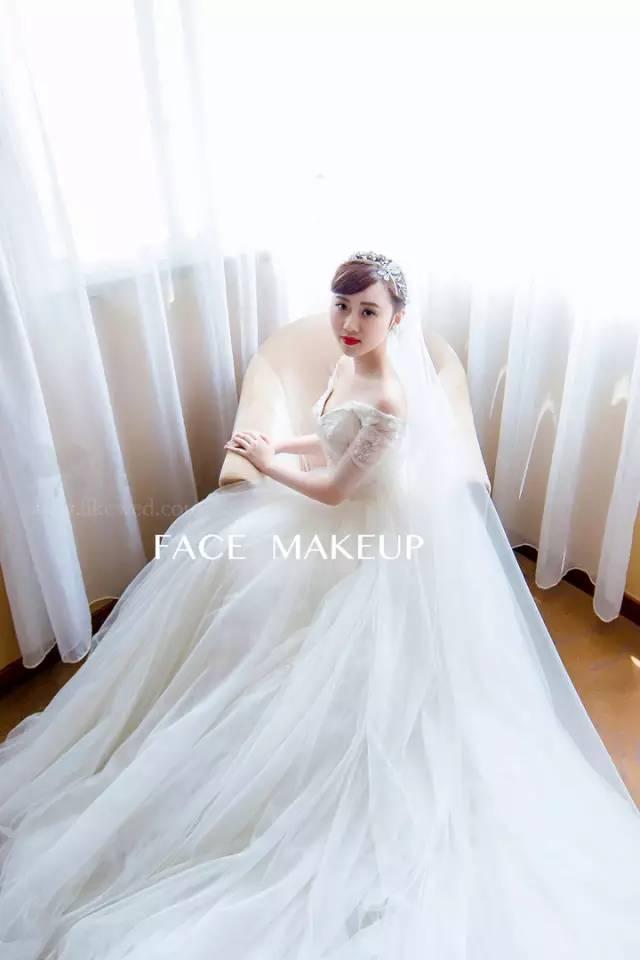 头纱的n种玩儿法!新娘化妆师们速速收藏啦图片