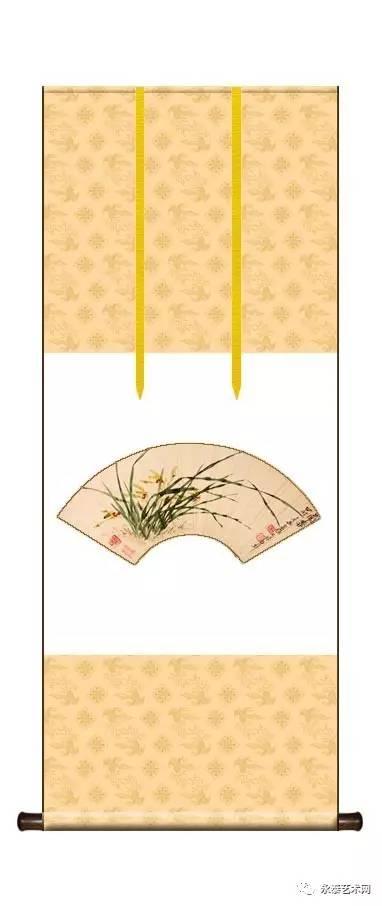 如隔界是绫子的,绫上有花纹,那么刺绶带时就要注意花纹的完整.