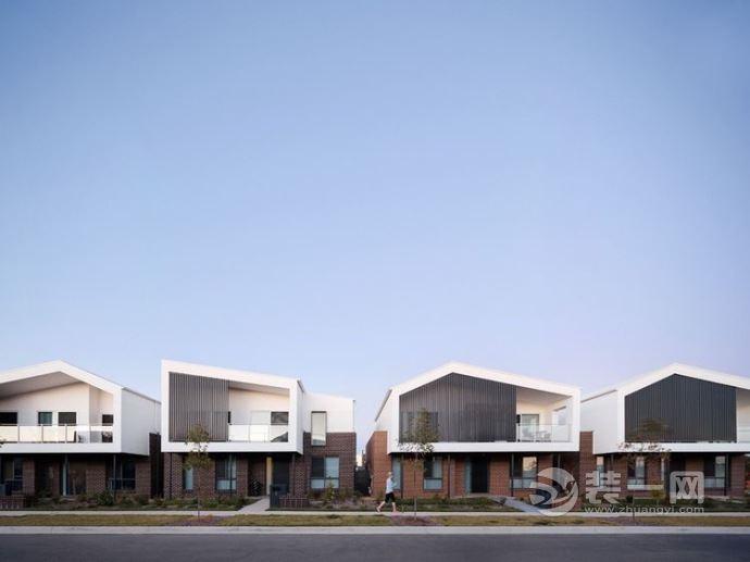 9张人字坡屋顶装修效果图 坡屋顶建筑用哪种材料好
