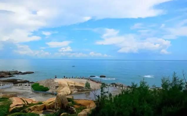 红海湾遮浪半岛,摄影天堂盐洲岛,莲花山召贡峡漂流纯玩三天