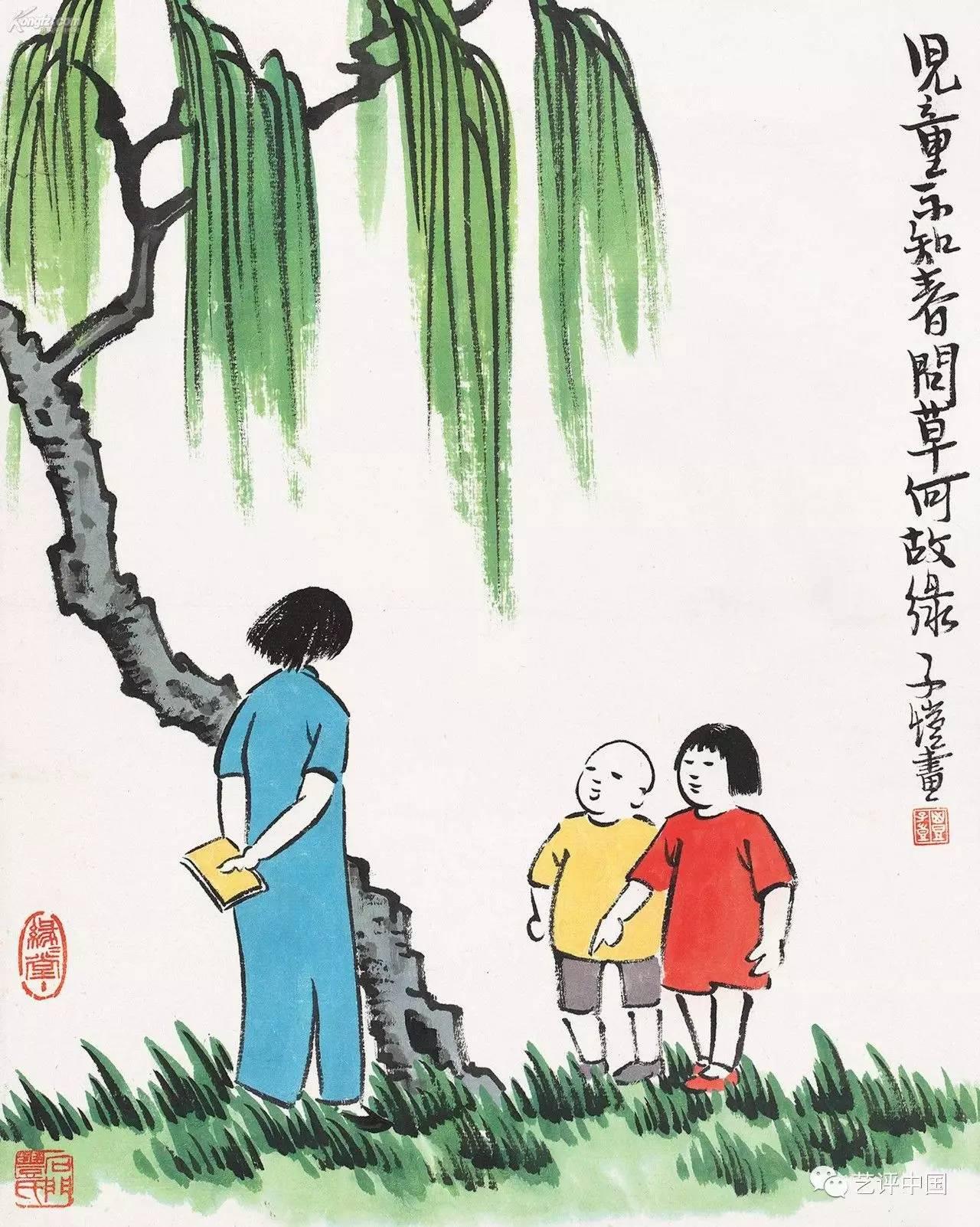 祝福母亲节1 冰心诗歌 纸船 ,丰子恺漫画母爱浓浓