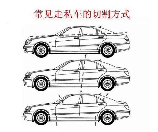 车辆俯瞰矢量图