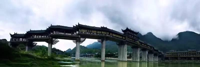 濯水风雨廊桥    蒲花暗河    神龟峡