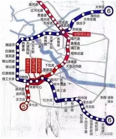 天津地铁10号线施工珠江道局部路段断交图片