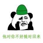 原谅帽表情包  扣绿帽子表情图片当然选择原谅她