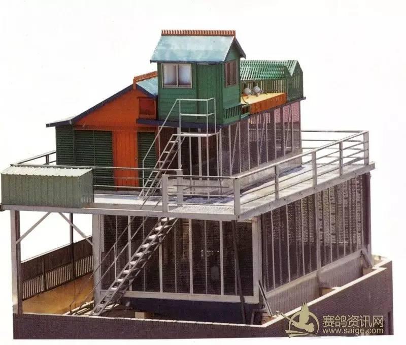 台湾职业鸽舍欣赏,又实用又漂亮,建舍必备