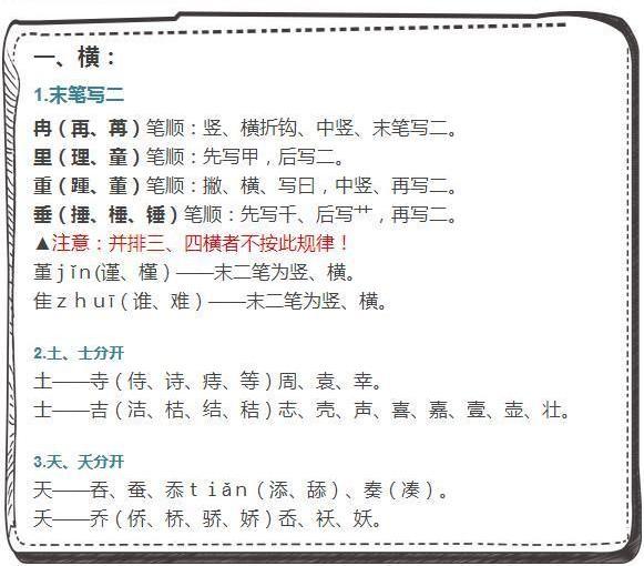 诞的笔画顺序怎么写-汉字笔顺规则,看看你有多少字笔顺写错了