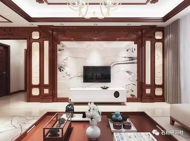 中式电视背景墙的设计