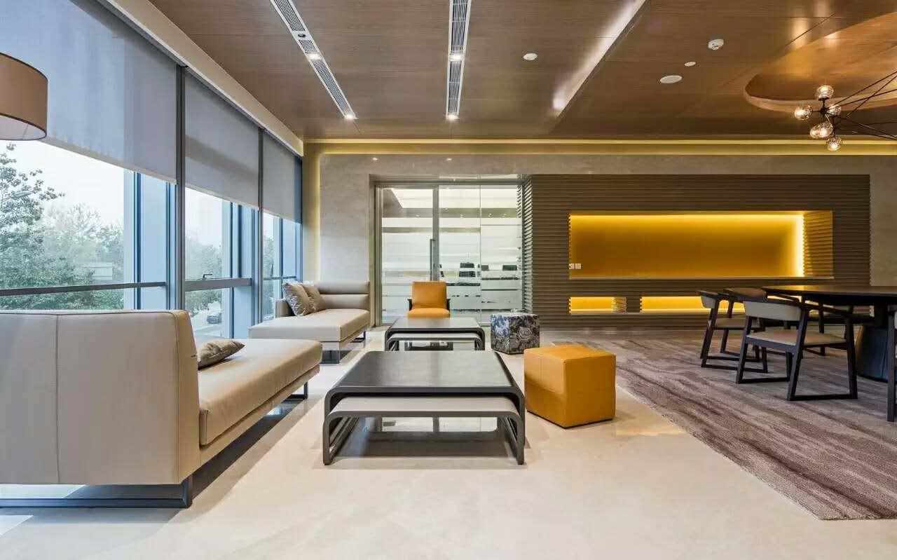 金城案例—中国惠普总部休闲区5