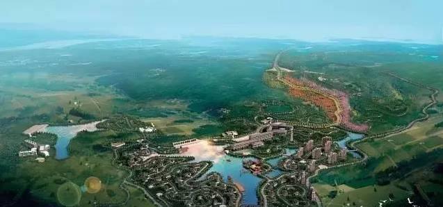 南雄新添一处休闲游玩—— 公园整体鸟瞰图 目前 香草世界森林公园已图片