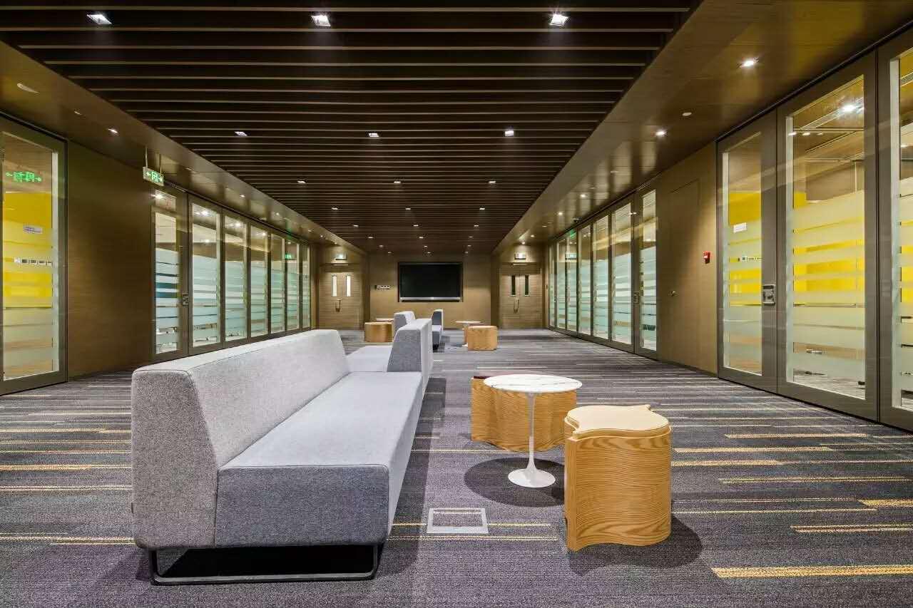 金城案例—中国惠普总部休闲区2