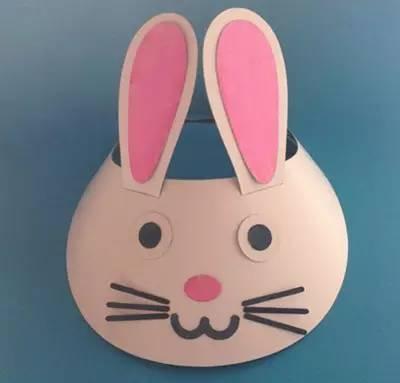【创意手工】小兔乖乖—六一儿童头饰制作教程分享