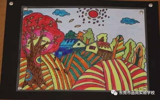 我校举行 阳光下成长 学生绘画比赛