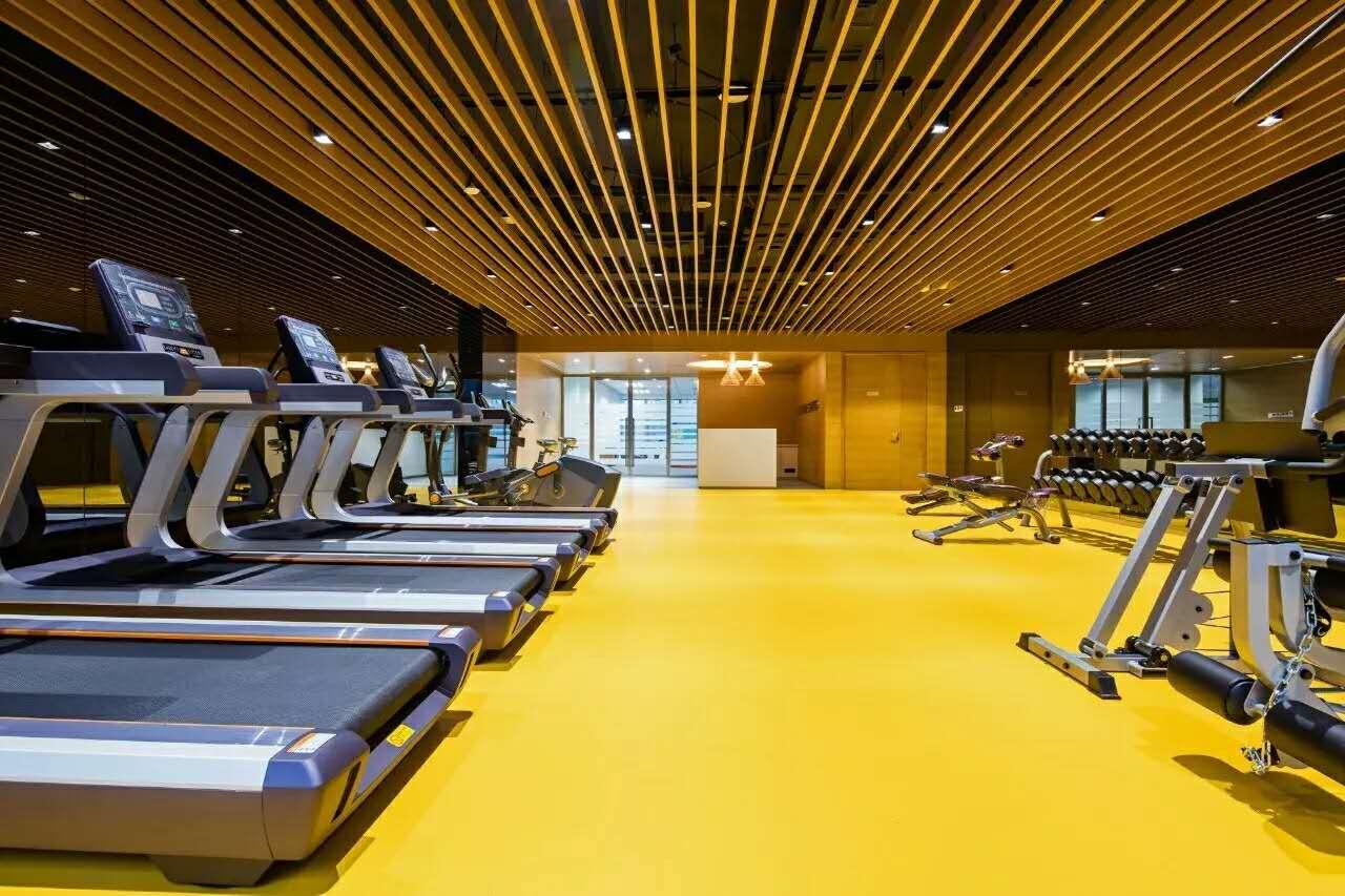 金城案例—中国惠普总部健身房