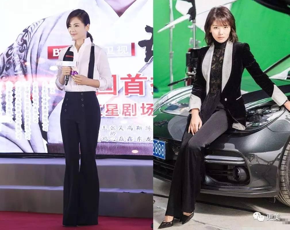 刘亦菲牛仔裤图片-运动一个月某部位不小反大 3招从宋茜变成杨幂