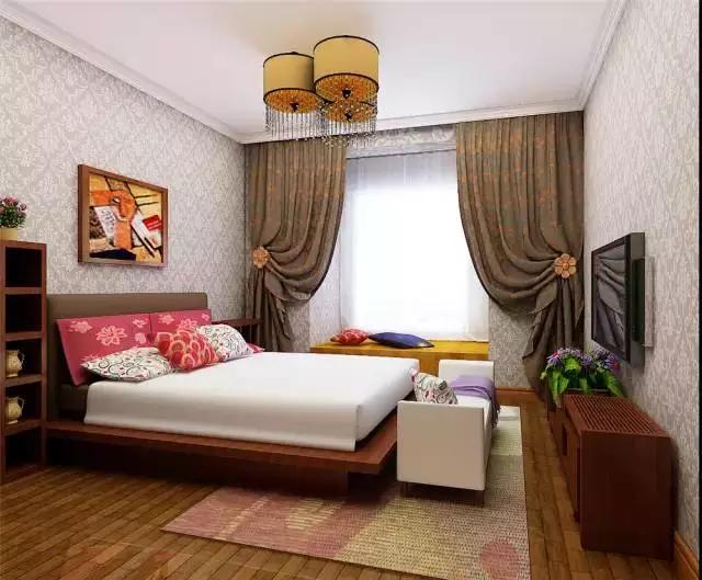 东南亚风格小户型装修案例(二): 建筑面积:80平米 房子类型:2室1厅1