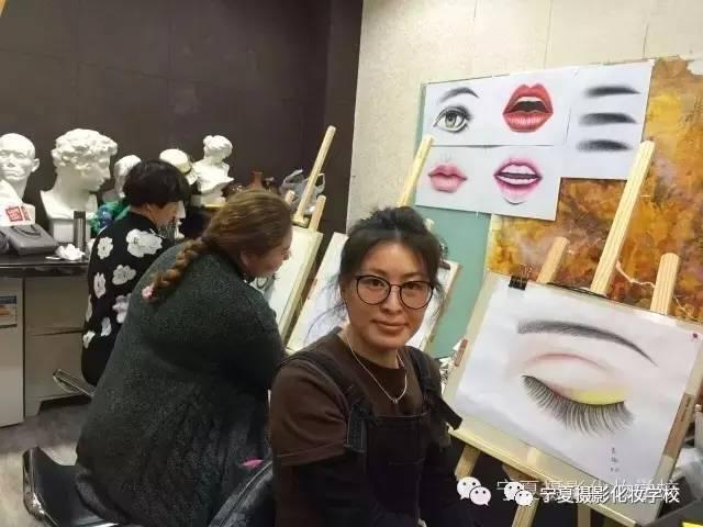 17半永久美妆素描 纹绣大师不进则退图片
