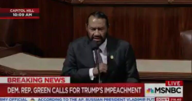 美国会议员呼吁弹劾特朗普 称其妨碍司法公正
