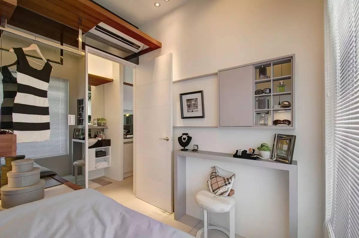 45平小公寓秒变两室,超强收纳实用美观!