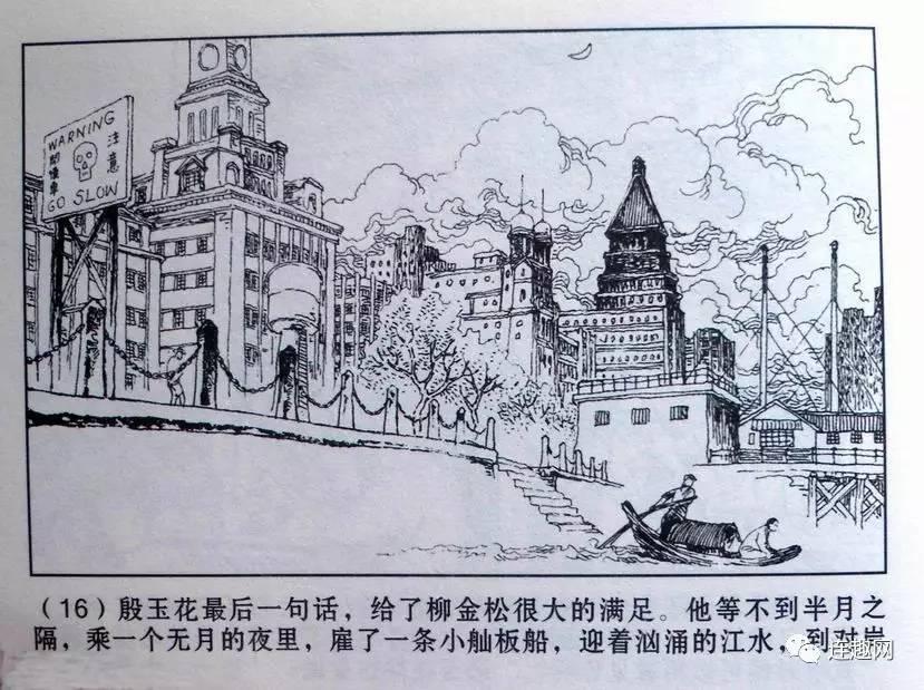 上海外滩总平图手绘