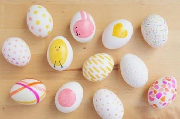 DIY的鸡蛋壳手工图片