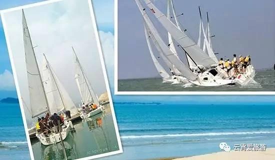 旅游 正文  帆船是一个鹤立独行的船种,他那独有的运动气质和海洋的零