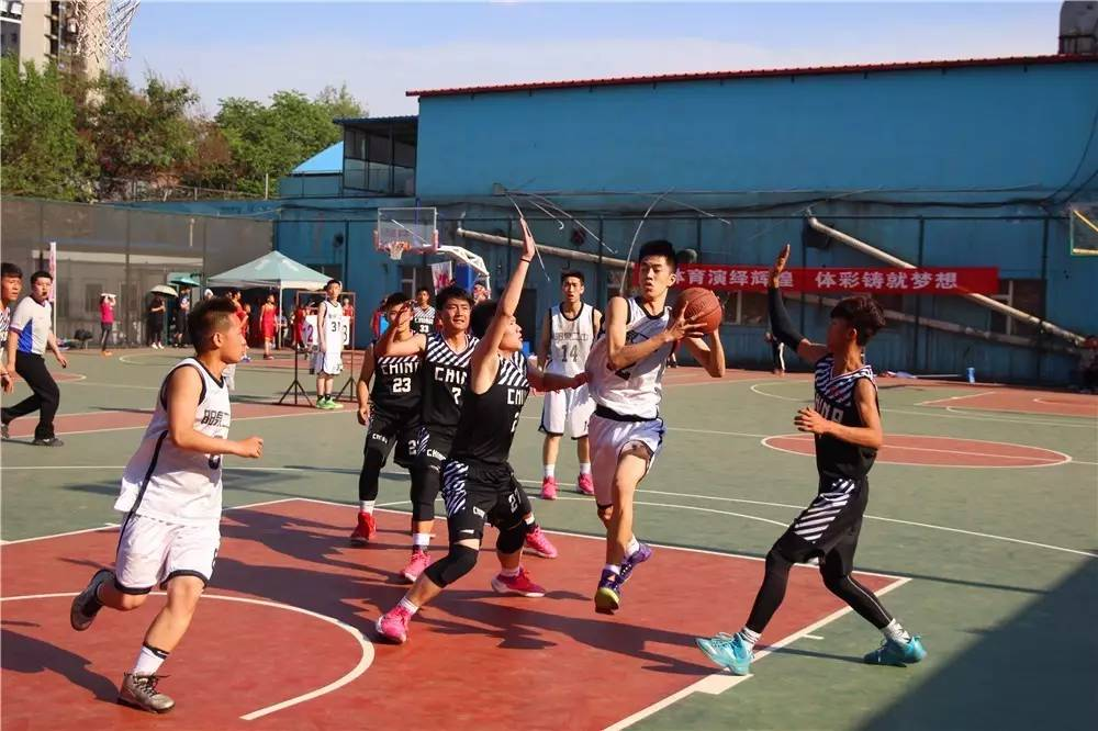 我校高中男子篮球队再次荣获2017年阳泉市中学生篮球联赛第一阶段冠