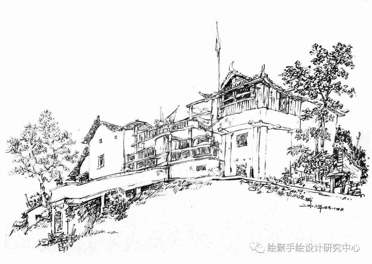 【绘聚手绘下午茶】第14期—建筑篇05