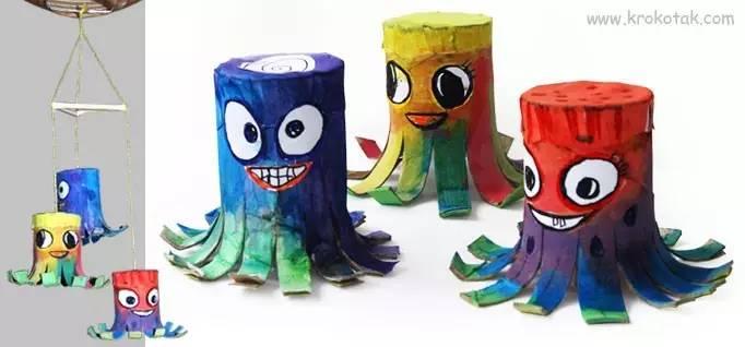 几个卷纸筒就能跟孩子开一场动物派对