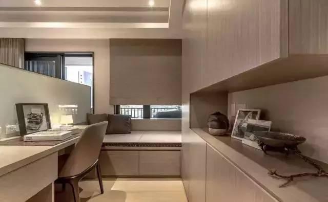 49平的单身公寓效果图,这样的电视背景墙设计超赞!
