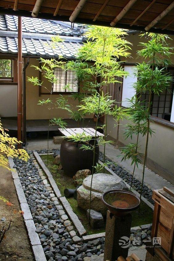 日式庭院小景观设计_日式庭院_日式庭院景观图片