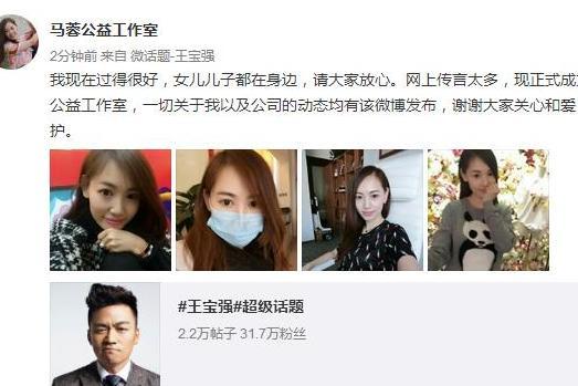 马蓉转移王宝强财产数亿疑炫耀已夺取子女抚养权