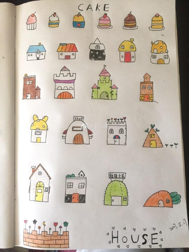 母婴 正文  会在微博话题#怪兽动物园# 跟夏七酱一起学画画 你也可以
