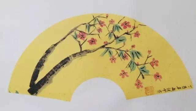 儿童手绘扇面素材