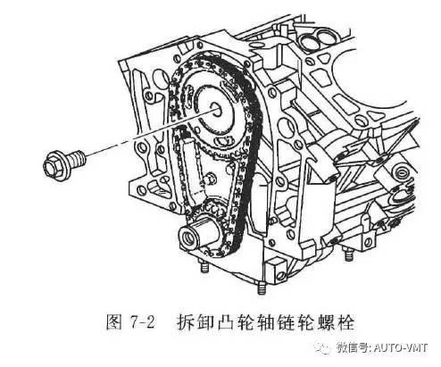 上海通用别克君威车系发动机正时校对维修(一)