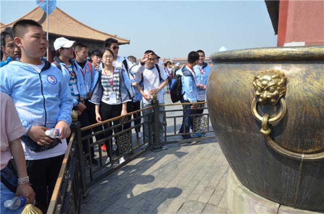 在故宫学历史,在国博观古今----青岛三中自主招生班北京游学记录(四)