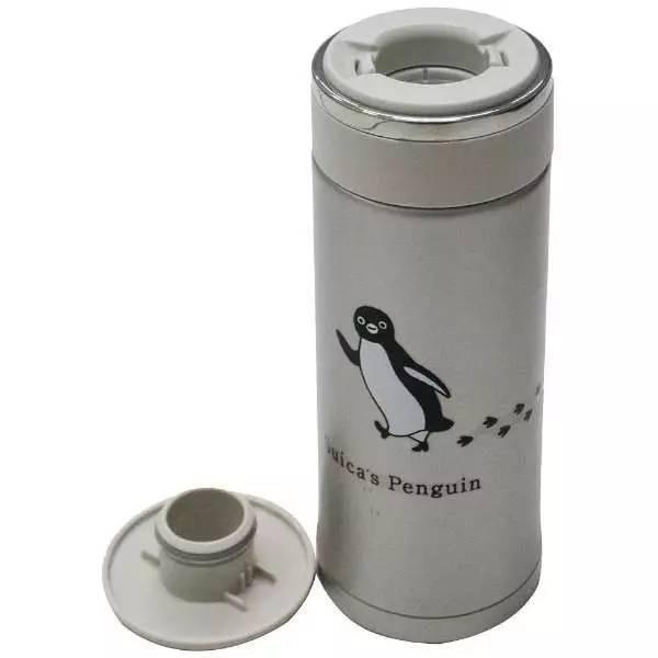 西瓜卡(suica)公司居然出小企鹅系列保温杯啦图片