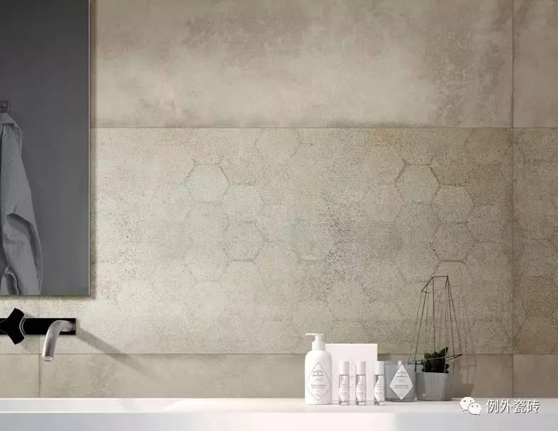 造旧效果的木纹仿古砖与水泥砖,是北欧风常见的搭配之一.图片