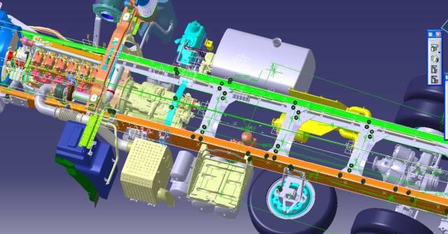 数模进行模拟试验及零部件的样品的制作;根据三维图完成设计及装配图.图片