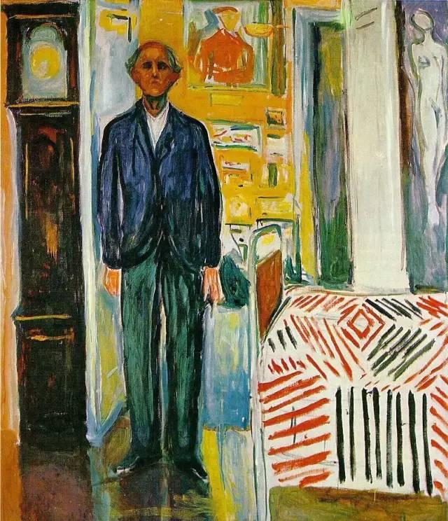 蒙克(edvard munch 1863-1944)挪威伟大的画家,现代表现主义绘画的图片