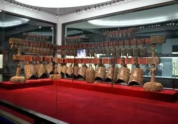 湖北省博物馆:曾侯乙编钟