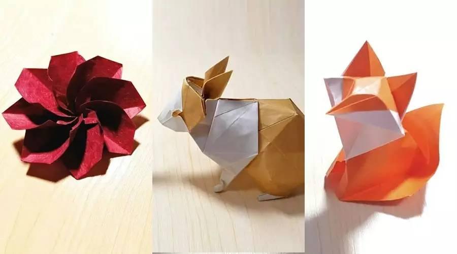 蝴蝶花球的折法图解