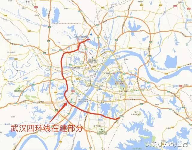 「最新前线实拍」武汉四环线黄陂盘龙城段即将与川龙大道交汇