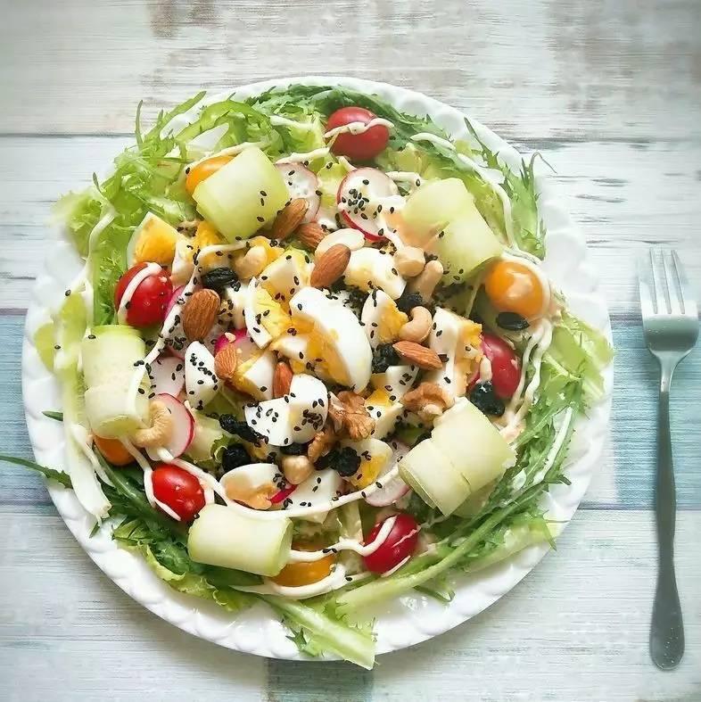 更添了香甜滋味 包裹着蔬菜和水果都富含香甜口感 适宜:水果沙拉,搭配图片
