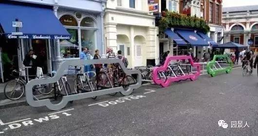 创意自行车停车位,厉害了word哥!